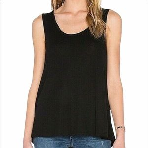H BY BORDEAUX SCOOP NECK BOXY TANK NWT XS & S